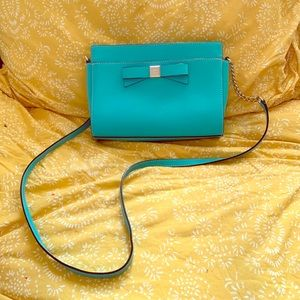 Light Teal Kate Spade Cross Body Purse